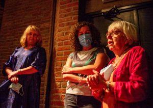 Joke Quadbeur, Florence Caulier and Jacqueline Heymans